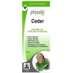 OLEJEK ETERYCZNY CEDER (CEDR ATLASKI) EKO 10 ml - PHYSALIS