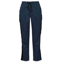 Spodnie ze stretchem Bootcut bonprix lodowy niebieski