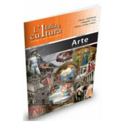 Książki do nauki języka, Italia e cultura Arte (opr. miękka)
