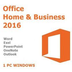 Office Home Business 2016/Wersja PL/Klucz elektroniczny/Szybka wysyłka/F-VAT 23%