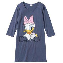 """Koszula nocna """"Daisy"""" bonprix niebieski gołębi z nadrukiem"""