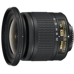NIKON NIKKOR AF-P DX 10-20mm f/4.5-5.6G VR ---Kup za 1099 zł --- z RABATEM 215 zł / RATY 0%/ Tel: 500 005 235!!! NATYCHMIASTOWY RABAT 215 ZŁ