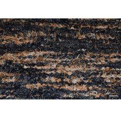 Chodnik bawełniany ręcznie tkany czarno-szary-brąz-ecu 65x150 cm