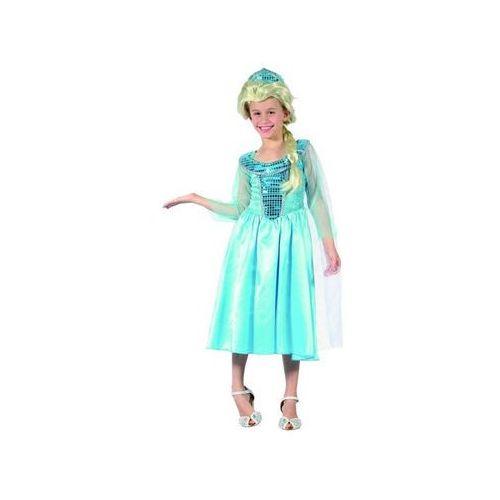 Kostiumy dla dzieci, Kostium Lodowa księżniczka - L - 130/140 cm