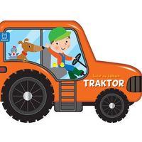 Książki dla dzieci, Świat na kółkach. Traktor (opr. kartonowa)