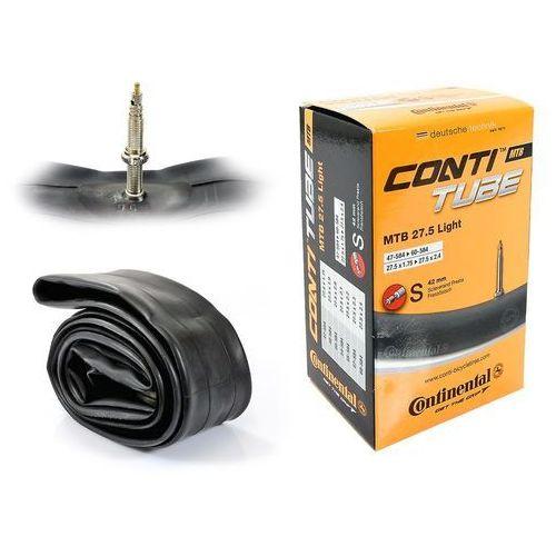Opony i dętki do roweru, Dętka Continental MTB 27,5'' x 1,75'' - 2,5'' Light wentyl presta 42 mm 148 g
