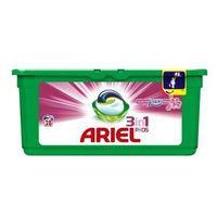 Pozostałe do prania, Żelowe kapsułki piorące Ariel With A Touch Of Lenor For Softness 837 g (28 sztuk)