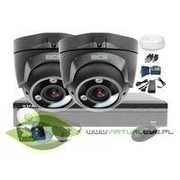 Zestawy monitoringowe, Zestaw do monitoringu: BCS-XVR0401+ 2x Kamera BCS-DMQE3200IR3+ Dysk 1TB + Akcesoria