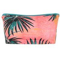 Stroje kąpielowe, BILLABONG Góra bikini 'palm daze tube top' zielony / koralowy