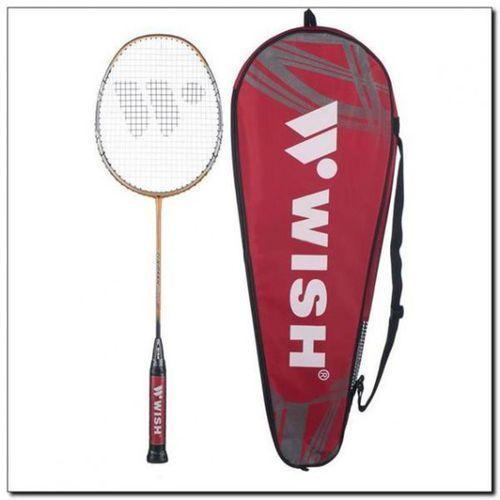 Badminton i speedminton, Rakieta do badmintona WISH TI Smash 9800 Złoty DARMOWY TRANSPORT