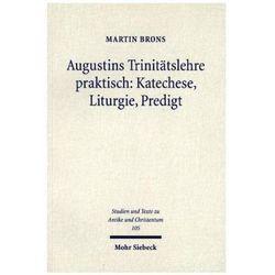 Augustins Trinitätslehre praktisch: Katechese, Liturgie, Predigt Brons, Martin