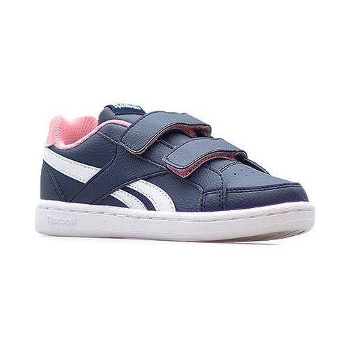 Pozostałe obuwie dziecięce, Buty Reebok młodzieżowe Royal CN1505 Granatowe