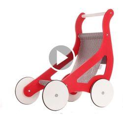 Wózek Dla Lalek Drewniany Paris Oloka-Gruppe