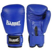 Rękawice do walki, Rękawice bokserskie PVC niebieskie Allright