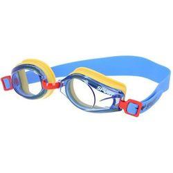 Okulary pływackie SPURT J-2 AF Niebiesko-żółty
