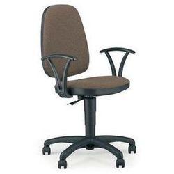 NOWY STYL Krzesło biurowe, obrotowe, ADLER GTP, czarny