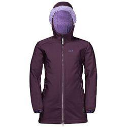 Płaszcz dla dziewczynki KISSEKAT COAT GIRLS aubergine