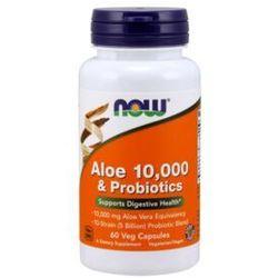 Now Foods Aloe 10 000 & Probiotics 60kaps