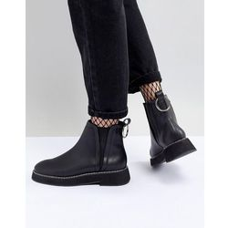 ASOS DESIGN Aria Chunky Chelsea Ankle Boots - Black