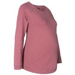 Shirt ciążowy i do karmienia piersią, długi rękaw bonprix jasny jeżynowy