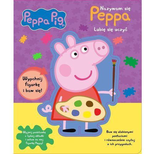 Książki dla dzieci, Peppa Pig Nazywam się Peppa Lubię się uczyć - Praca zbiorowa (opr. kartonowa)