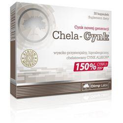 OLIMP Chela-Cynk 30 kaps. [promocja] Najlepszy produkt tylko u nas!