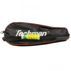 Zestaw do speedmintona Techman TS200 czerwono-czarny