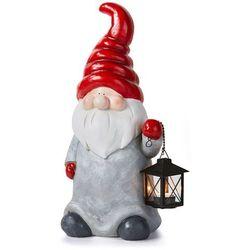 """Mikołaj z lampionem """"Niko"""" bonprix czerwono-biały-szary"""