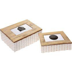 Pudełko z ramką na zdjęcia 2w1, pojemnik do przechowywania, szkatułka, 2 sztuki w komplecie