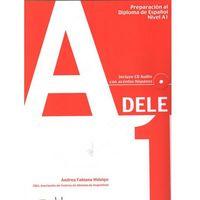 Książki do nauki języka, Preparacion al diploma de espanol nivel A1 DELE incluye CD audio (opr. miękka)