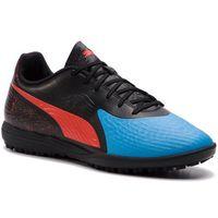 Piłka nożna, Buty PUMA - One 19.4 TT 105495 01 Bleu Azur/Red Blast/Black