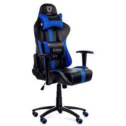 Fotel DIABLO X-Player Czarno-niebieski + Zamów z DOSTAWĄ JUTRO! + DARMOWY TRANSPORT!