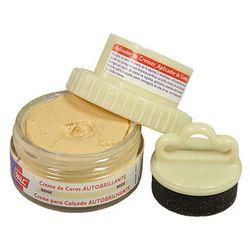 PALC pasta słoik 50 ml beżowy, pasta samopołyskowa w kremie z aplikatorem - Beżowy