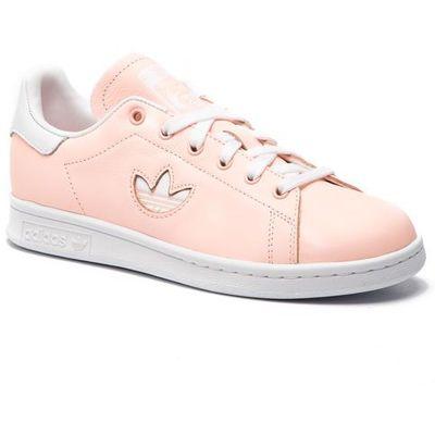 Buty adidas Stan Smith W F34308 CleoraFtwwhtCleora, kolor różowy