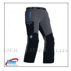 Spodnie trekkingowe damskie MILO VINO LADY grey/black red
