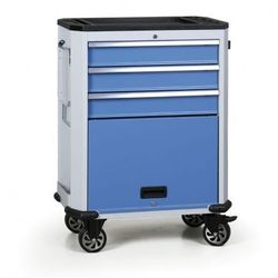 Wózek warsztatowy EXPERT, 4 szuflady