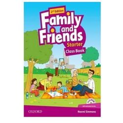 Family and Friends: Starter: Class Book with Student MultiROM (opr. broszurowa)