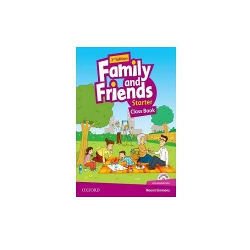 Książki do nauki języka, Family and Friends: Starter: Class Book with Student MultiROM (opr. broszurowa)