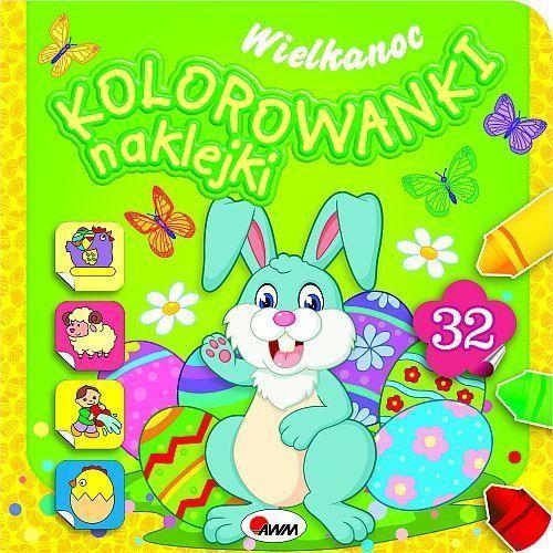 Kolorowanki, Kolorowanki naklejki Wielkanoc - Piotr Kozera
