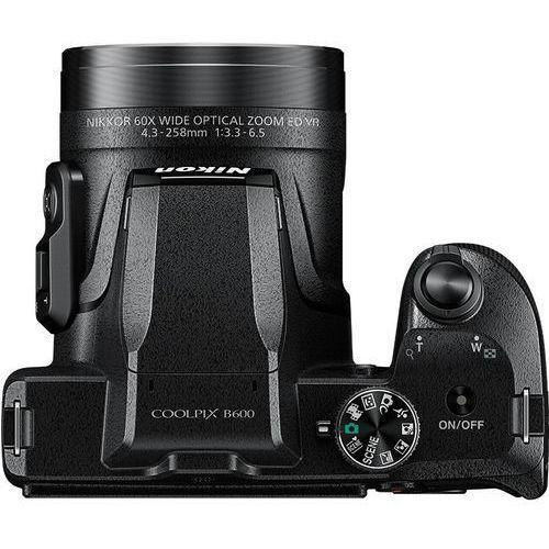 Aparaty kompaktowe, Nikon Coolpix B600