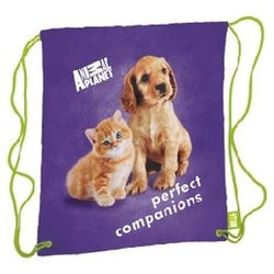 Worek szkolny STARPAK na sznurkach Animal Planet Cute Cat&Dog