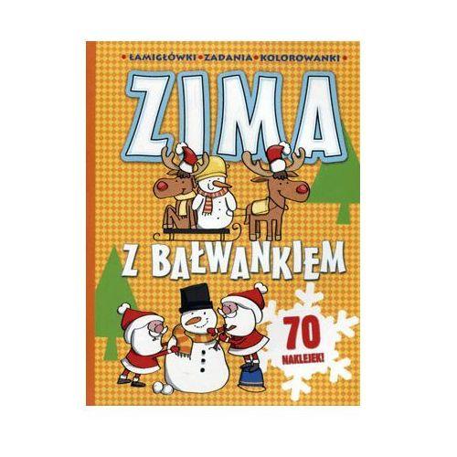 Książki dla dzieci, Zima z bałwankiem - Joanna Babula