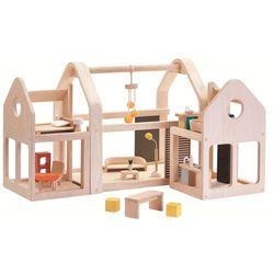 Składany domek dla lalek