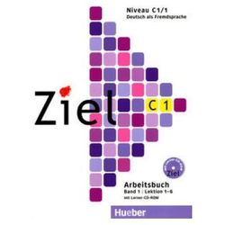 Ziel C1 Band 1 Pakiet - Kursbuch + Arbeitsbuch + CD-ROM Hueber (opr. kartonowa)