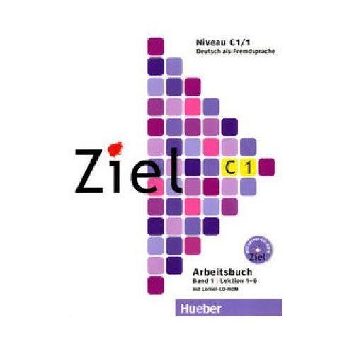 Książki do nauki języka, Ziel C1 Band 1 Pakiet - Kursbuch + Arbeitsbuch + CD-ROM Hueber (opr. kartonowa)