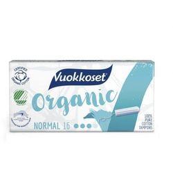 Vuokkoset Tampony z bawełny organiczne Normal 16sz