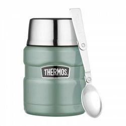 Thermos ® - termos obiadowy ze składaną łyżką - kolor duck egg