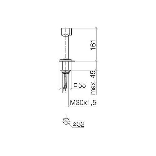 Baterie do kuchni, Bateria Dornbracht Lot 32800680-00