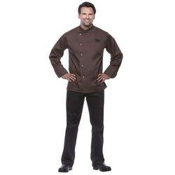 Bluza kucharska męska, rozmiar 52, brązowa   KARLOWSKY, Julius