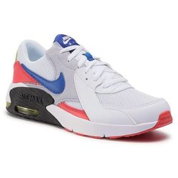 Buty NIKE - Air Max Excee (Gs) CD6894 101 White/Hyper Blue/Bright Cactus